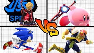 Super Smash Bros. Ultimate - Who is the Fastest Character? (Speed Tier List)