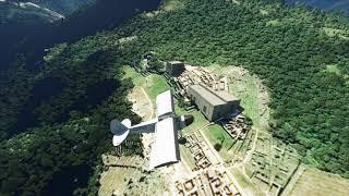 [4K] Landing in Machu Picchu (Perú) in Microsoft Flight Simulator Premium Deluxe