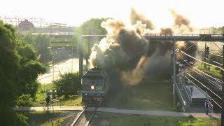 Максимальный дым: Тепловоз ТЭП70-0236 / Extreme smoke: TEP70-0236