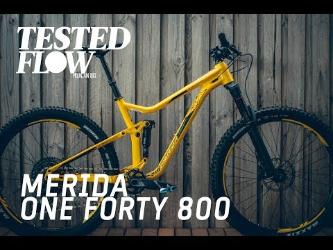Tested: Merida One-Forty 800 2018 - Flow Mountain Bike
