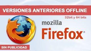 Versiones Anteriores Firefox Mozilla Offline Español