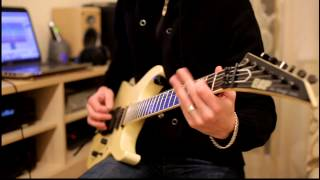 Video Preternatural - Land of Confusion (Genesis cover / guitar play)