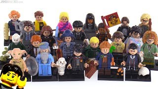 LEGO Harry Potter & Fantastic Beasts minifigures review! Set of 22