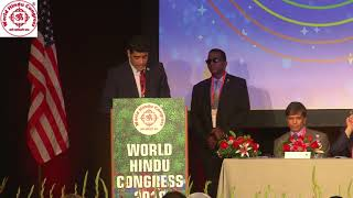 Message by Hon'ble Vice President of Republic of Surinam Shri Ashwin Adhin at WHC 2018