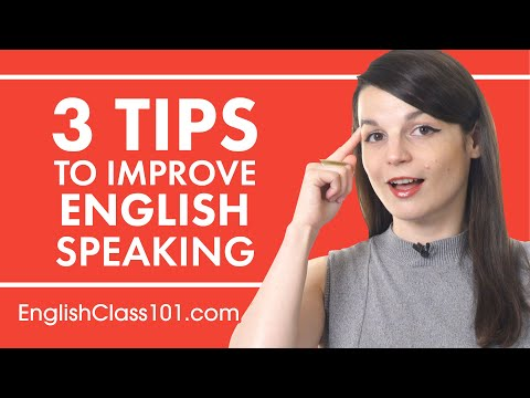 Download 3 Tips for Practicing Your English Speaking Skills Mp4 HD Video and MP3
