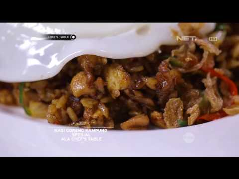 Video Chef's Table - Nasi Goreng Kampung Spesial