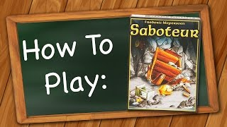 Picture of a game: Saboteur (card Game)