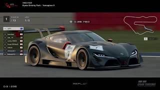 Gran Turismo™SPORT - Kyoto Yamagiwa II Toyota FT1 VGT Gr3 (online race) v2