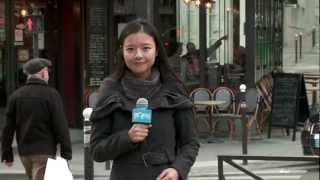 PorteàporteduPS视频报道:实拍法国社会党志愿者登门拜票