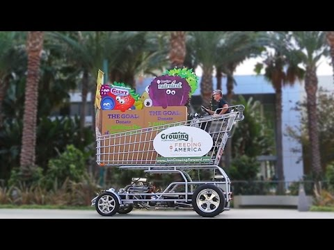 Off Their Trolley: Duo Build World's Fastest Shopping Cart
