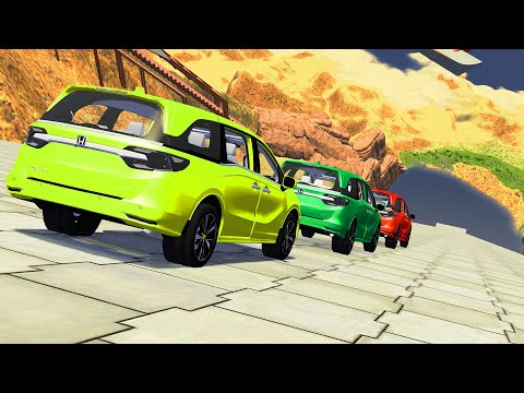 Epic High Speed Jumps #52 – BeamNG Drive | CrashTherapy