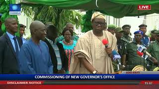 Commissioning Of Ekiti State High Court & Governor's Office Pt 7