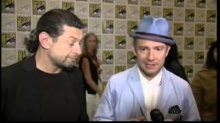 "Martin Freeman: Interview Comic-Con 2012 ""The Hobbit"""