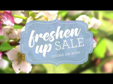 Freshen Up Sale