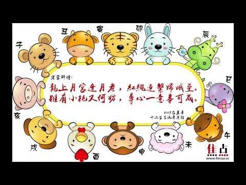 【龍】2019己亥年十二生肖流年運程︱方榮主講