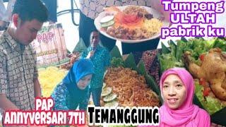 ISTIMEWA TUMPENG Ingkung Ayam ULTAH KE 7 PABRIK Ku || PAP TEMANGGUNG