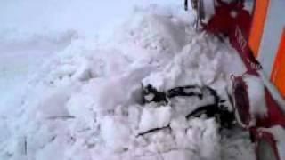 Тепловозом ТЭМ2 борьба со снегом