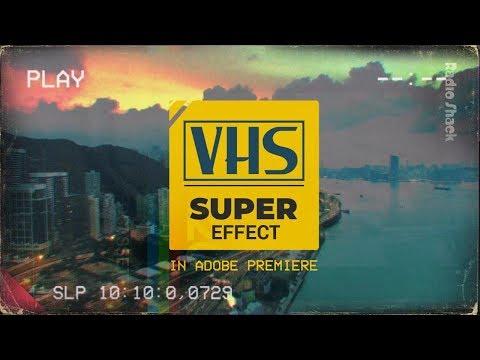 VHS Retro Look - Adobe Premiere Pro (no plugins) - смотреть онлайн