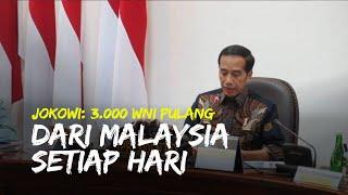 Awasi Ketat Kedatangan WNI dari Luar Negeri, Jokowi: 3.000 WNI Pulang dari Malaysia Setiap Hari