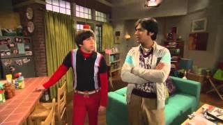 The Big Bang Theory set tour with Simon (Howard) and Kunal (Raj)