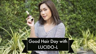 DAILYCHERIE : Good Hair Day with Lucido-L