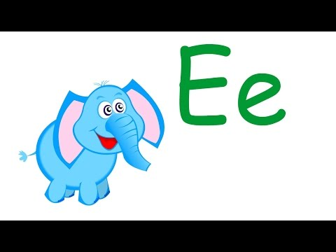Letter E Song | Elephant Song for Kids Learning English
