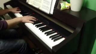 ピアノアシタカとサン ~もののけ姫~ (久石譲)