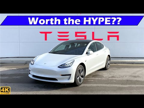 External Review Video FNenwiGMHMo for Tesla Model 3 Electric Sedan