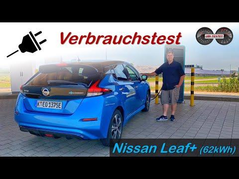 2020 Nissan Leaf e+ 62kWh TEKNA - Was verbraucht er im Alltag?! | Test - Verbrauchstest - Review