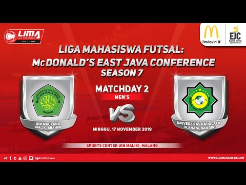 Men's UIN MALIKI vs UNUGIRI LIMA Futsal: McDonald's EJC Season 7