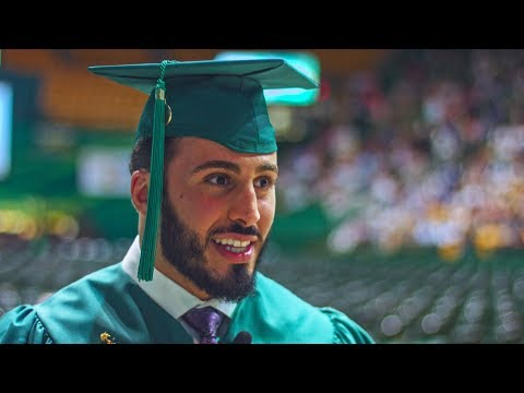 "One Mason graduate's advice: ""Be strong. Be brave."""