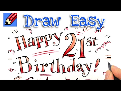 How To Draw Happy Birthday Shoo Rayner Author