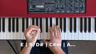 How to use broken chords to create a cool, complex pop piano sequence