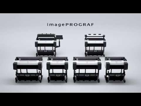 Canon imagePROGRAF TM-200 CAD A1 teikningaprentari-Myndband