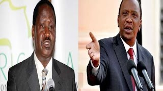 Un-Aired Exclusive: President Uhuru Kenyatta's full speech hitting at CORD Leader Raila Odinga