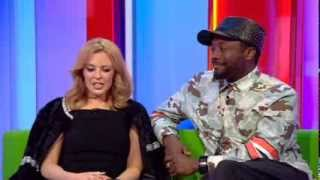 Kylie Minogue will.i.am BBC The One Show 2014