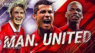 Man. United | GREATEST European Goals & Highlights | Ronaldo, Pogba, Beckham | BackTrack