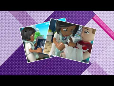 Vidéo LEGO Friends 41318 : L'hôpital d'Heartlake City