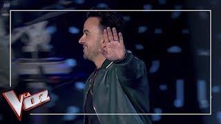 Luis Fonsi se enfada con Antonio Orozco | Momentazos | La Voz Antena 3 2019