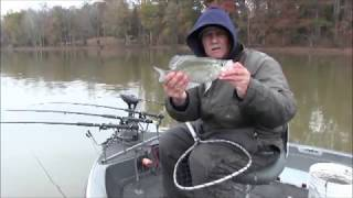 Cold Weather Crappie
