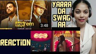 Ask them song reaction|Karan Aujla|Gippy gerwal| reaction on karan aujla new song
