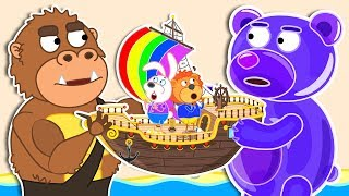 Lion Family 💱 Sea Adventures Exchange | Cartoon for Babies
