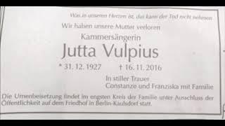 Jutta Vulpius singt Agathe: