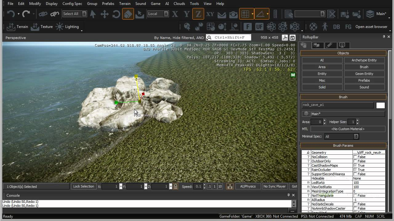 CryEngine 3 SDK: Ways to Place Objects/Models Into Your Map - Tutorial 07