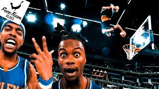 The hardest dunk in the world Ft. The Harlem Globetrotters