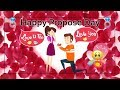 Happy Propose Day 2019 💟 || 8 Feb Propose Day Special Whatsapp Status || Happy Valentine day
