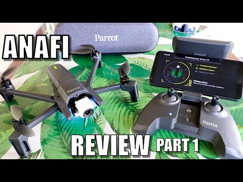 Parrot ANAFI Drone Review – Part 1 In-Depth – [Unboxing, Inspection, Setup & Updating]