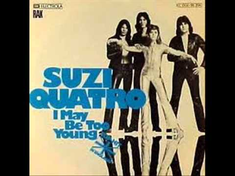 "SUZI QUATRO -""I Was May Be Too Young"" (1975)"