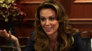 "Alyssa Milano And The ""Who's The Boss"" Reunion-Larry King Now 1"