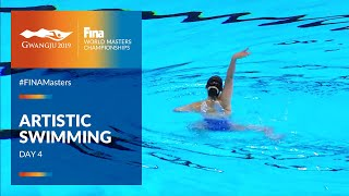 RE-LIVE |Artistic Swimming Day 4 | FINA World Masters Championships 2019